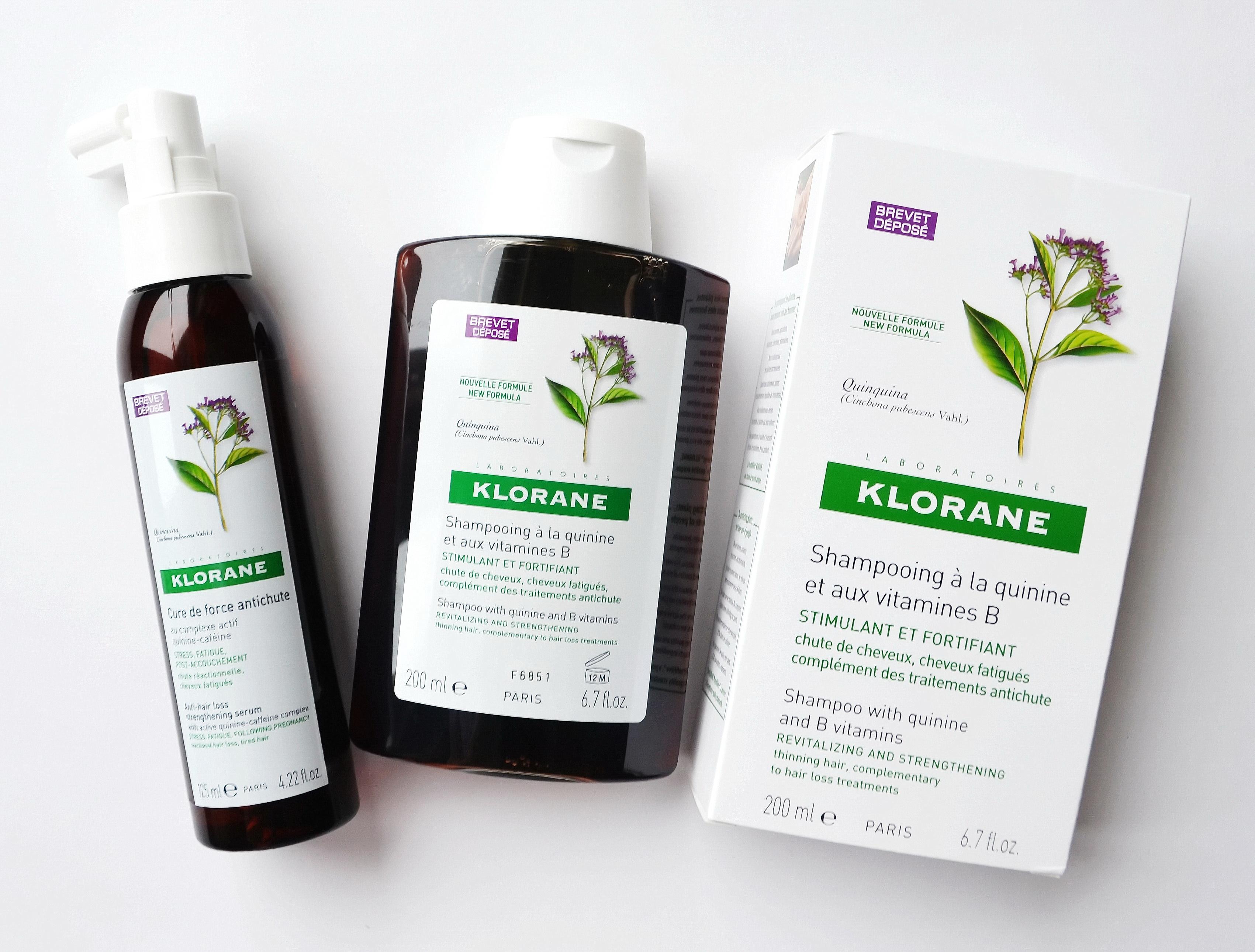 Шампунь KLORANE с экстрактом хинина