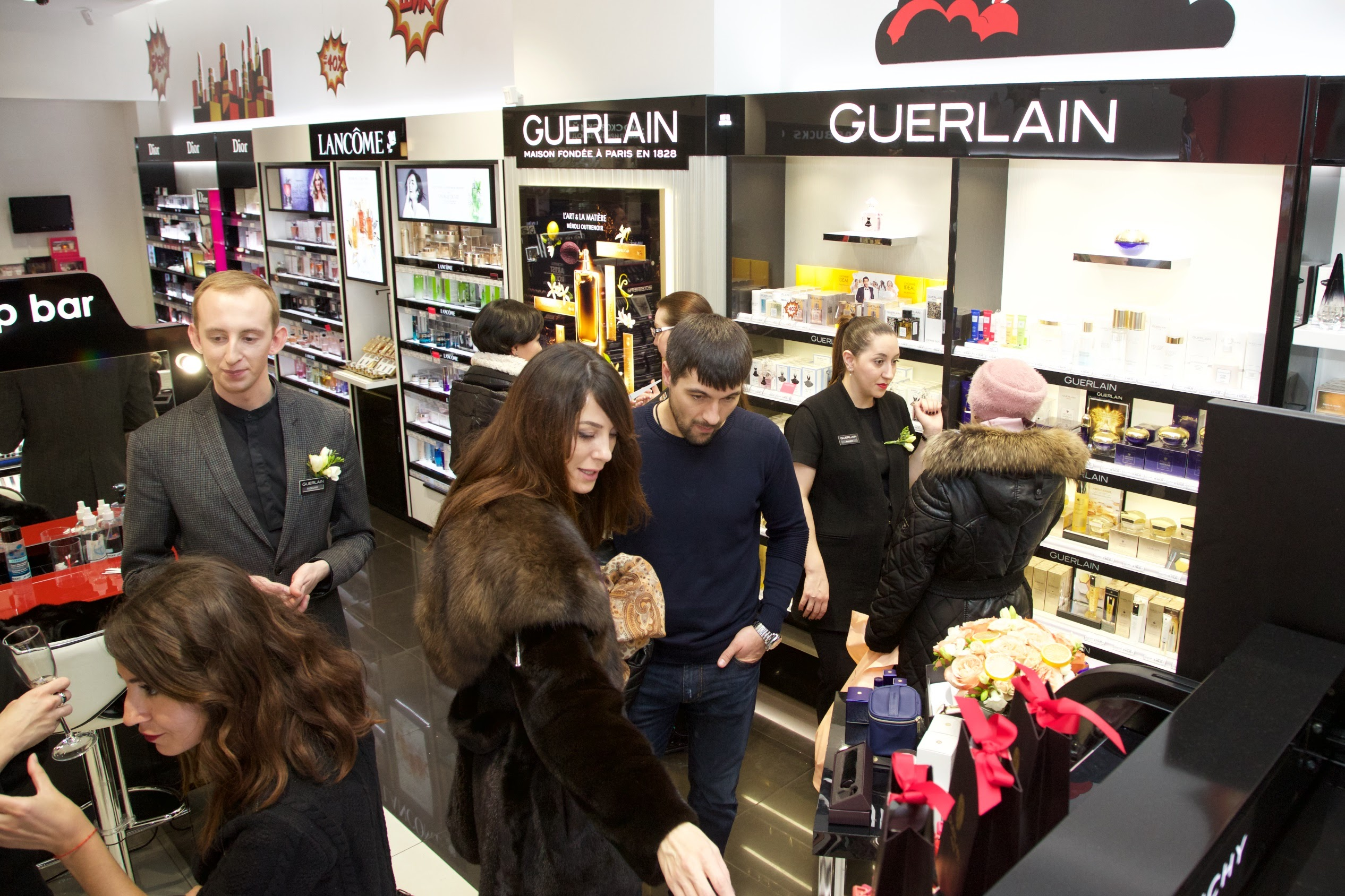 В Иль де Ботэ «Атриум» открылся корнер эксклюзивных ароматов Guerlain