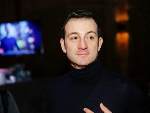 Франко Дзанеллато на презентации новой коллекции сумок Postina